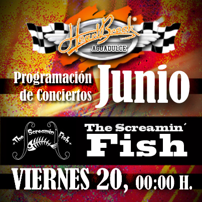 Concierto de The Screamin' Fish