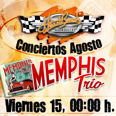 Concierto de Memphis Trio