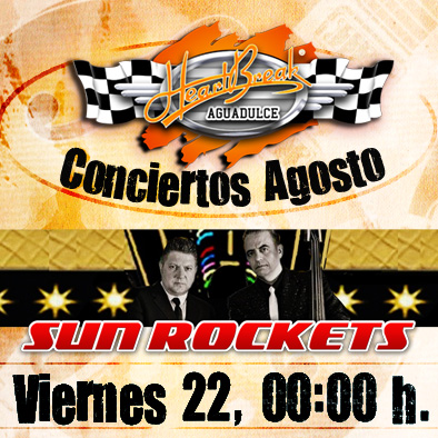 Concierto de The Sun Rockets