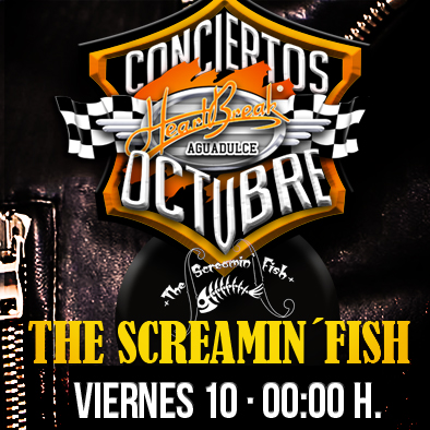 Concierto de The Screamin´Fish