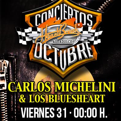 Concierto de Carlos Michelini & Los bluesheart