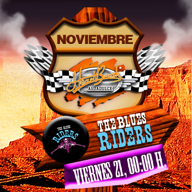 Concierto de Blues Riders