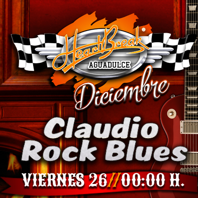 Concierto de Claudio Rock Blues