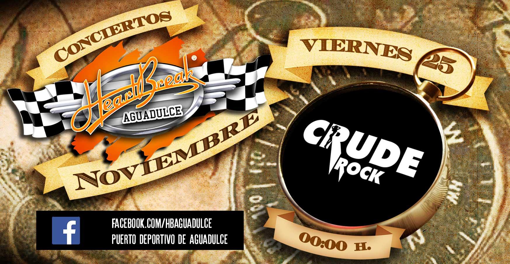 Concierto de Crude Rock