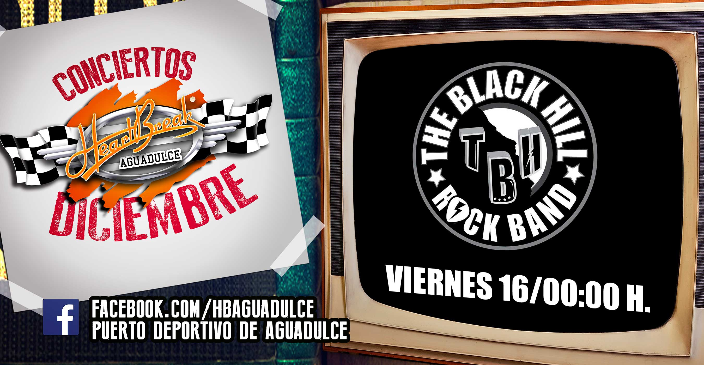 Concierto de The Black Hill