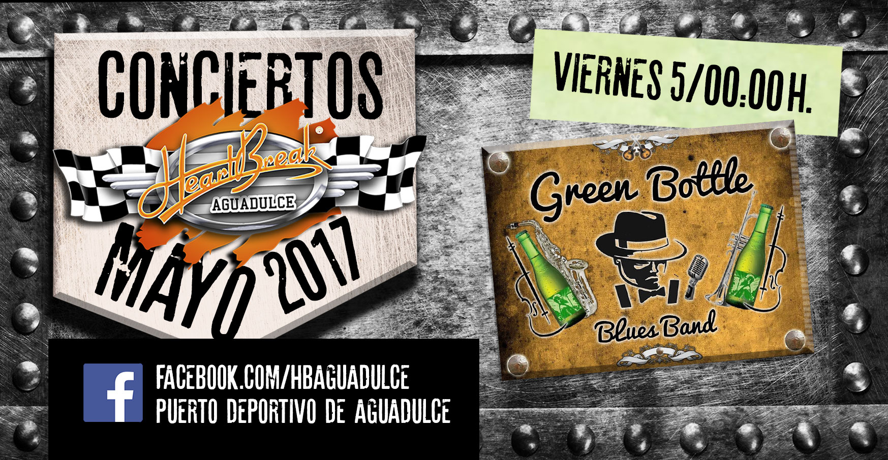 Concierto de Green Bottle Blues Band