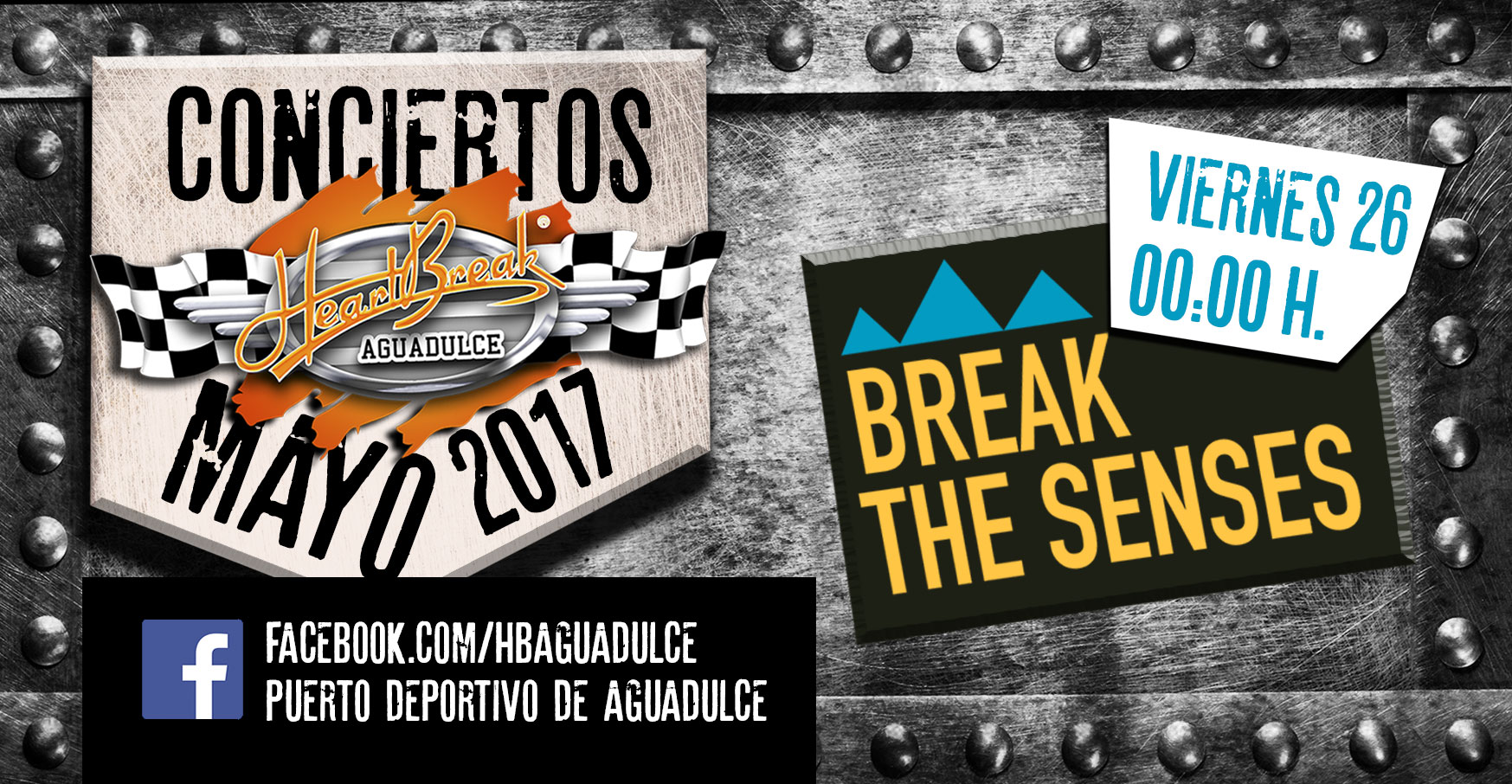 Concierto de Break The Senses