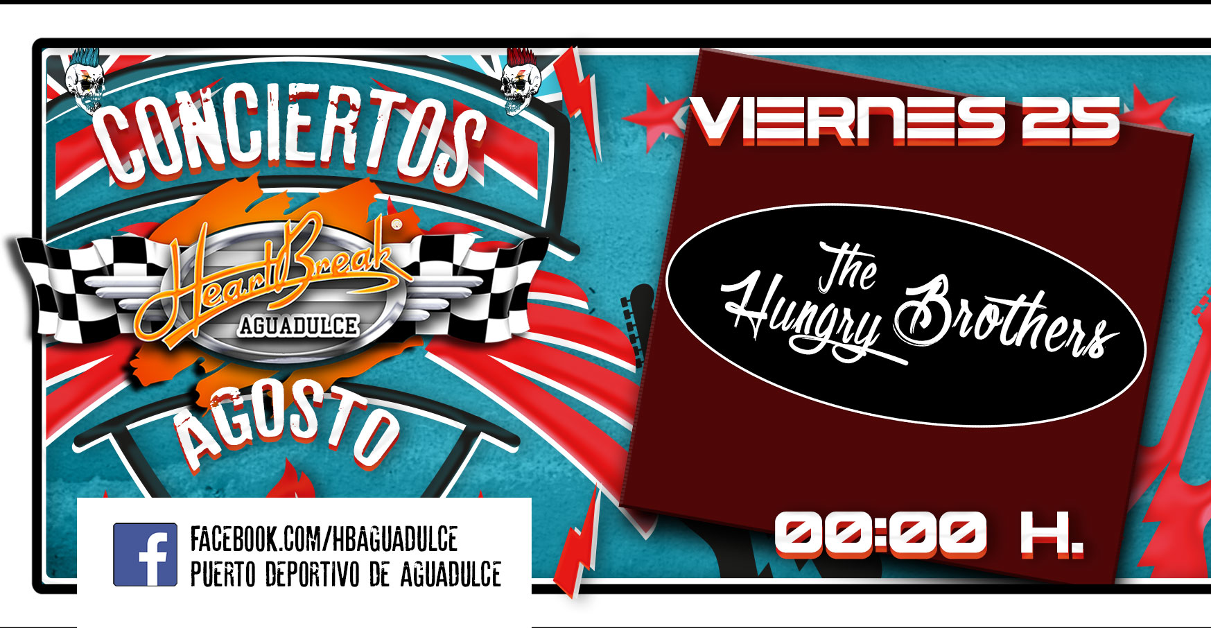 Concierto de The Hungry Brothers