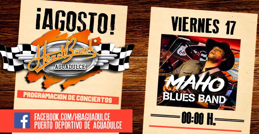 Concierto de Maho Blues Band