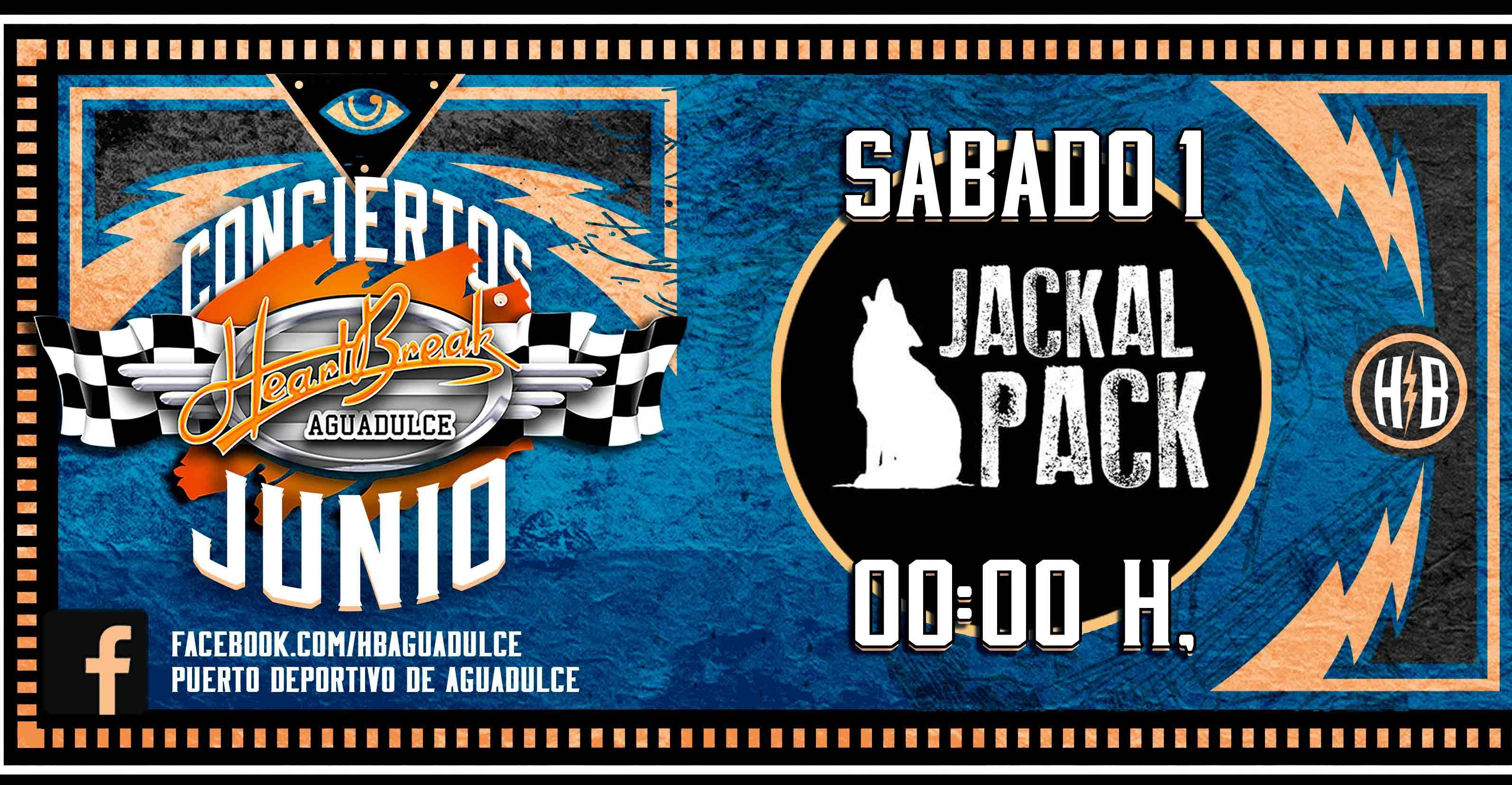 Concierto de Jackal Pack