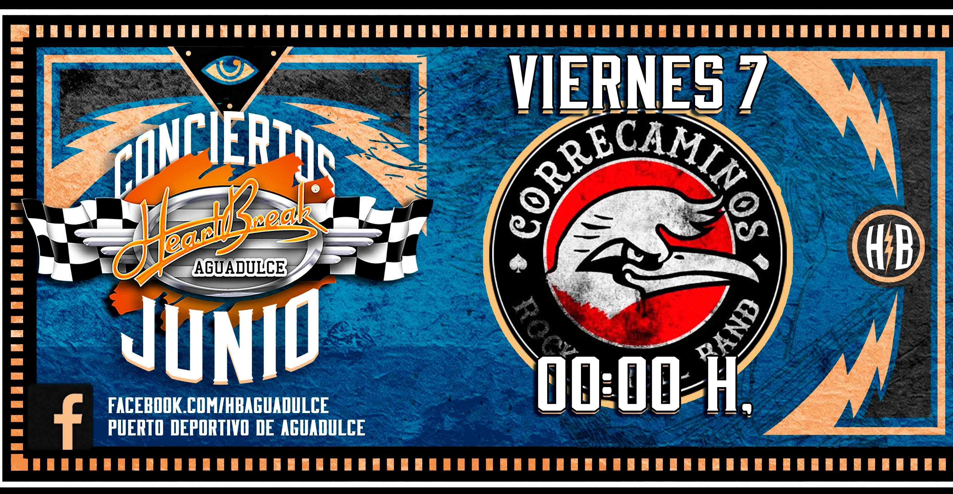 Concierto de Correcaminos Rock and Roll Band