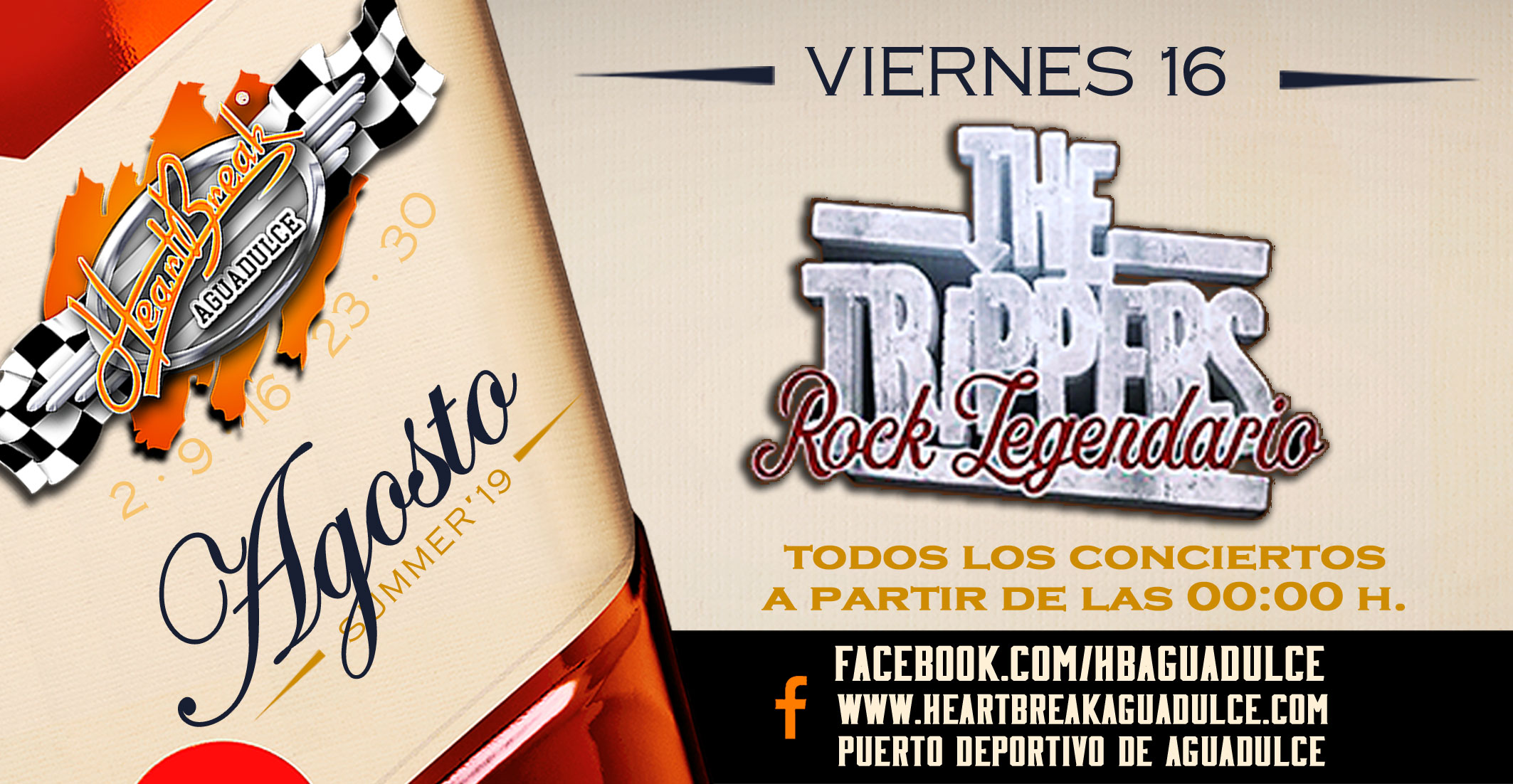 Concierto de The Trippers