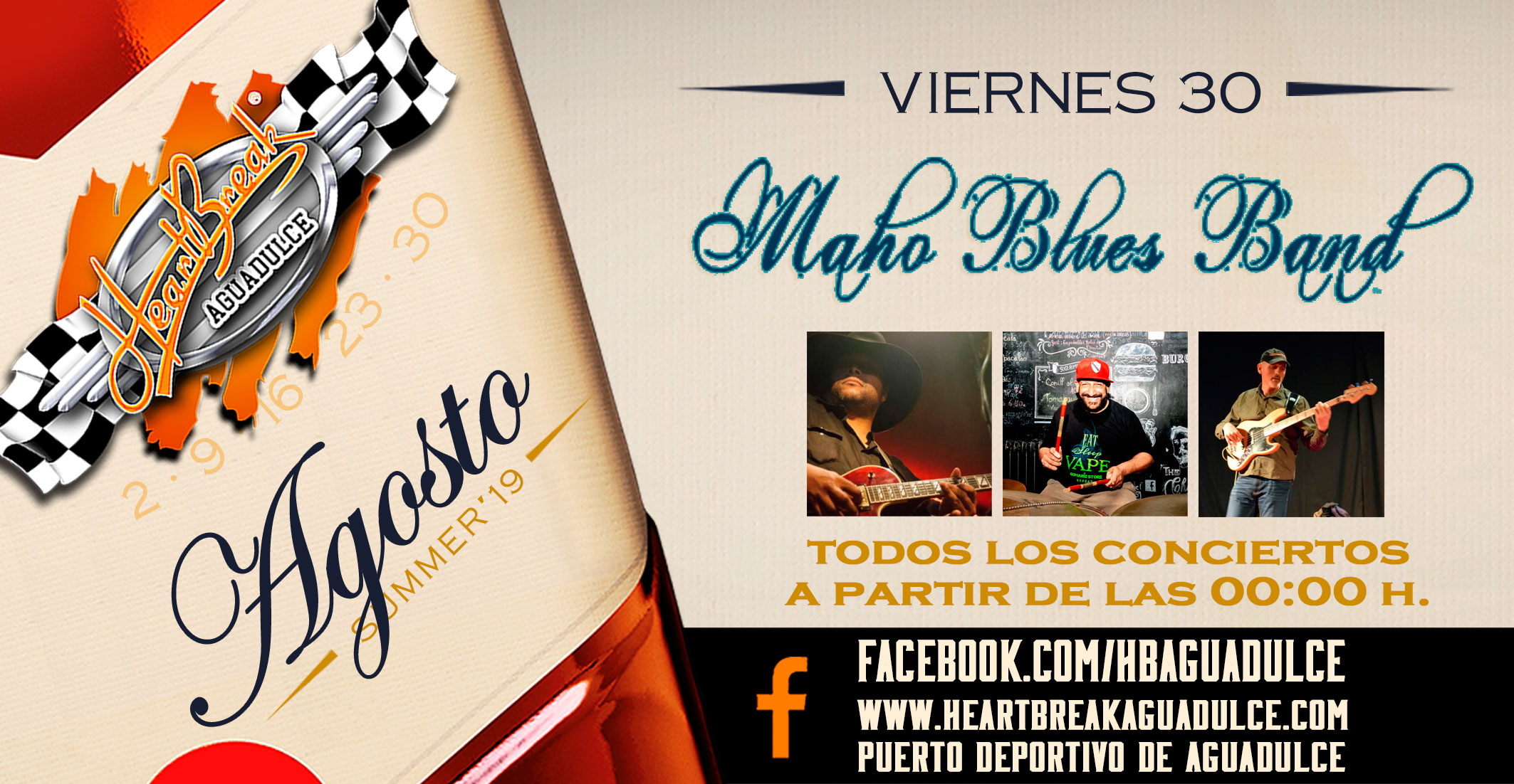 Concierto de Maho Blues Band