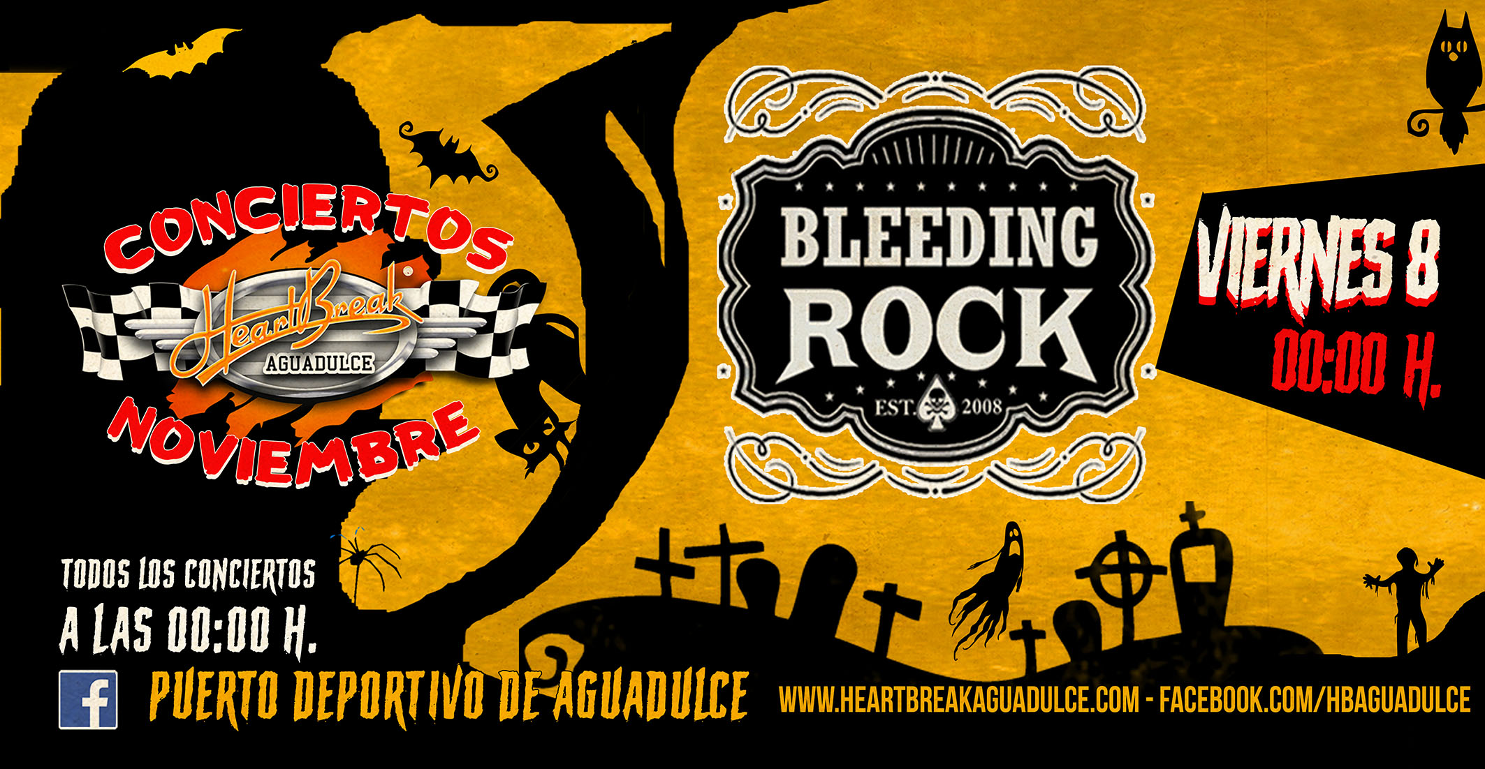 Concierto de bleeding rock