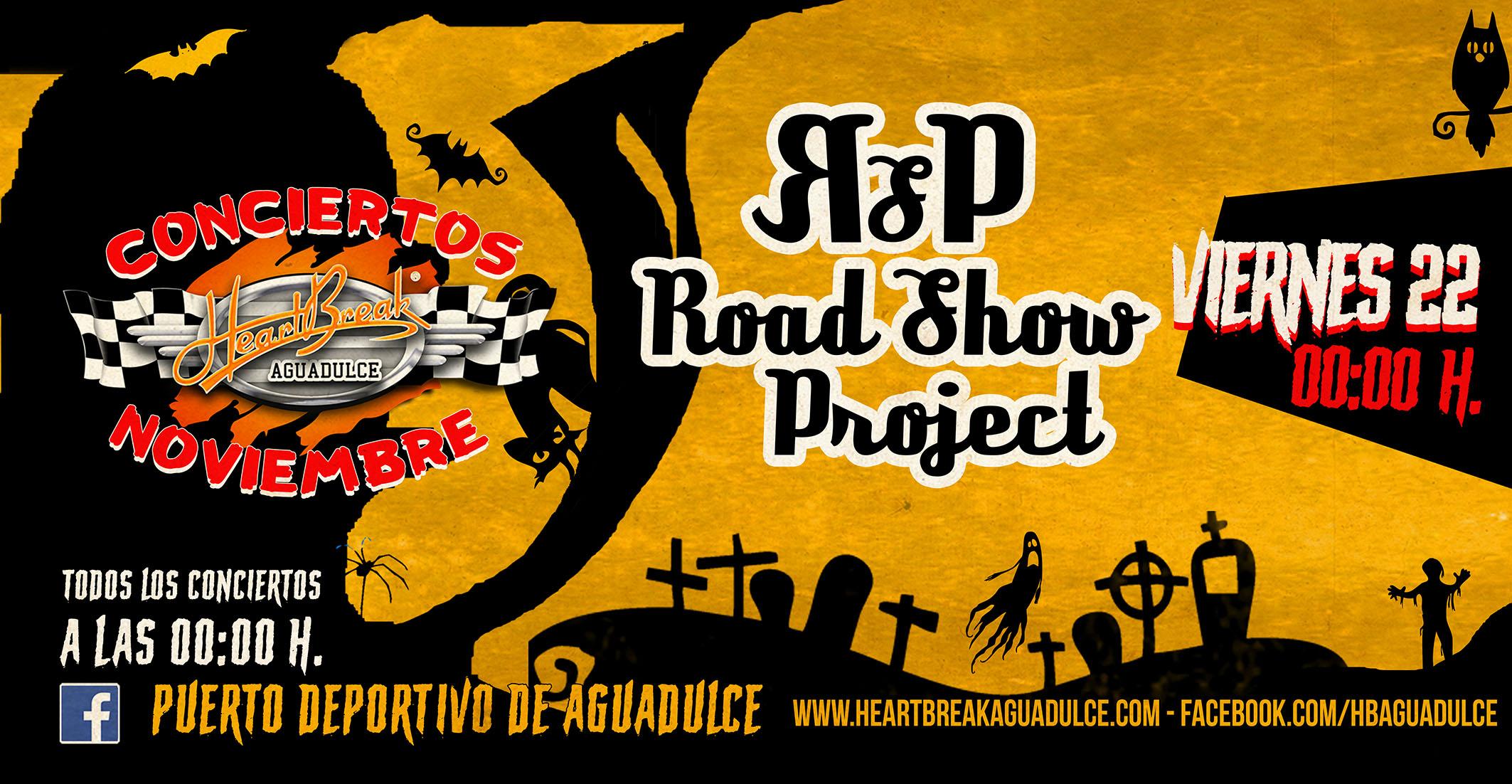 Concierto de Road Show Proyect
