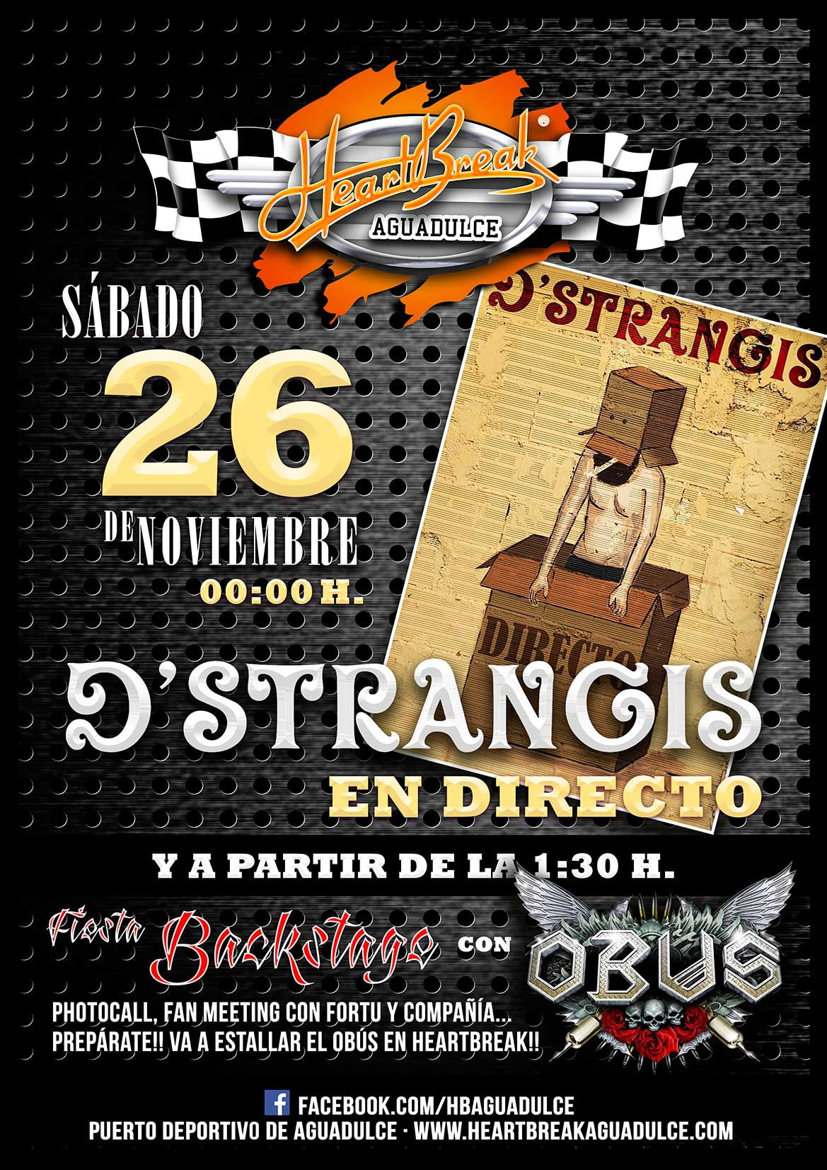 D´strangis y Fiesta Backstage